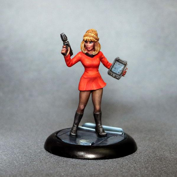 Bombshell Miniatures: Officer Chase