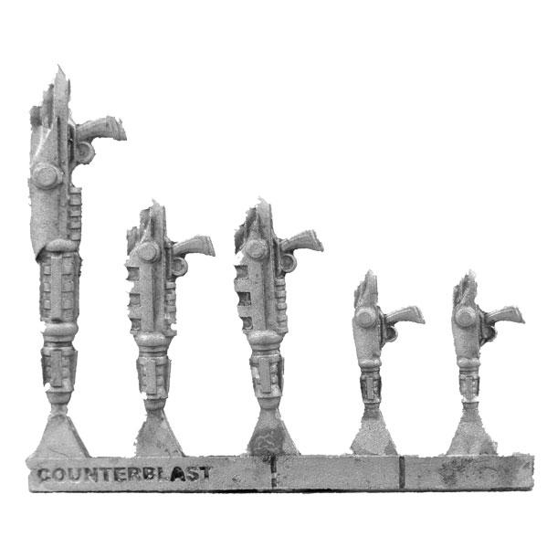 Bombshell Miniatures: Particle Beam Weapon Sprue