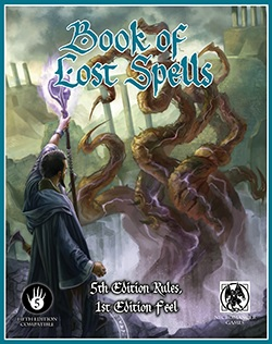 Book of Lost Spell (5E)
