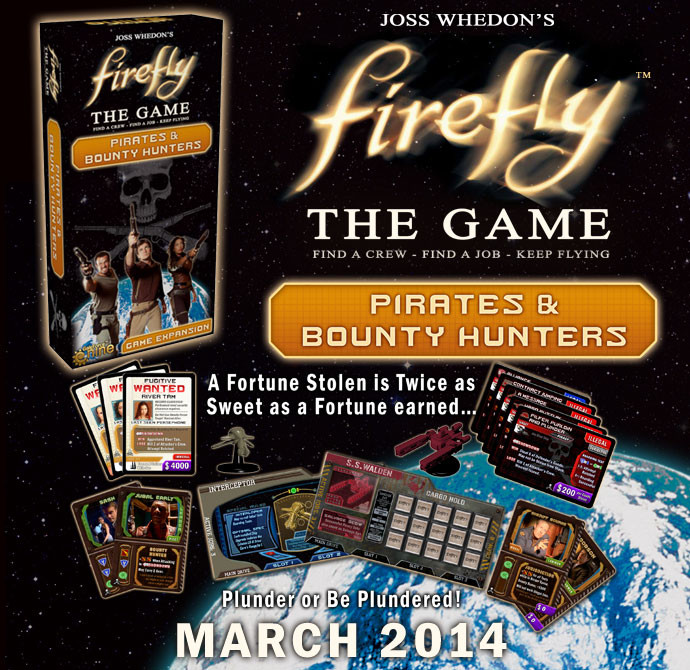 Firefly- The Game: Pirates & Bounty Hunters [Damaged]
