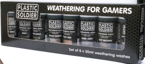 Plastic Soldier Company: Box Set of Weathering Washes
