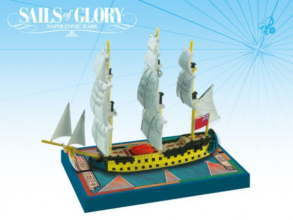 Sails of Glory: British: HMS Bellona 1760 S.o.L. British Ship Pack