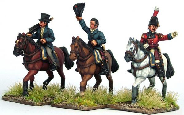 Victrix 28mm: Metal: British Napoleonic Generals