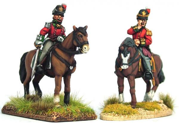 Victrix 28mm: Metal: British Waterloo Colonels & Foot Pioneer