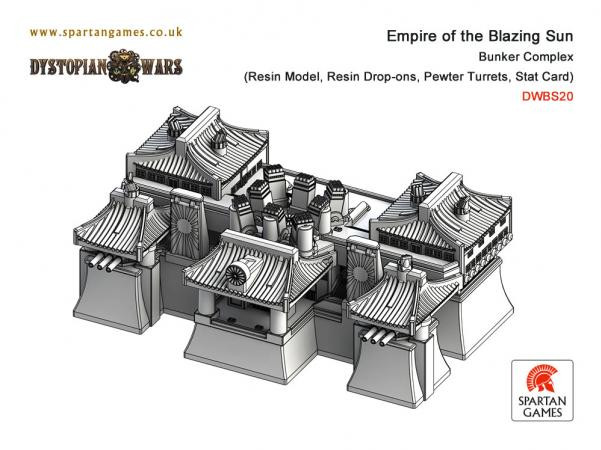 Dystopian Wars: Empire Of The Blazing Sun: Bunker Complex