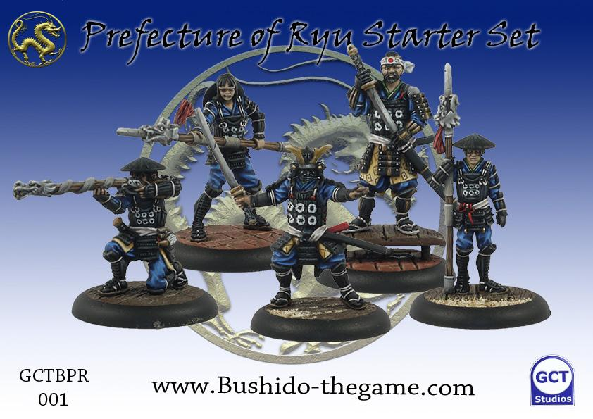 Bushido: The Prefecture of Ryu: Starter Set