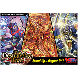 CARDFIGHT VANGUARD: The Destructive Roar Extra Booster 01