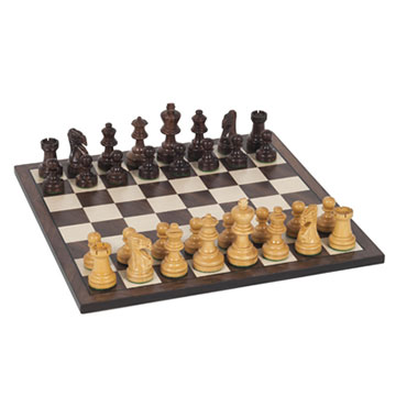 "CHESS 12"" SHEESHAM AND KARI WOOD [Damaged]"