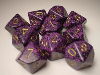 Chessex (25117): D10: Speckled: Hurricane