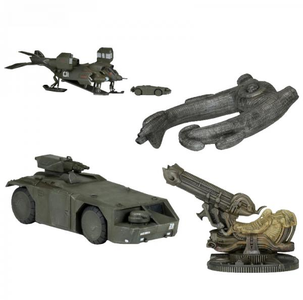 CINEMACHINES DIE CAST COLLECTIBLES SERIES 1: Alien- Fossilized Space Jockey