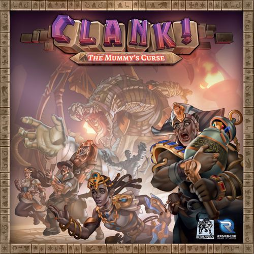 CLANK! THE MUMMYS CURSE EXPANSION