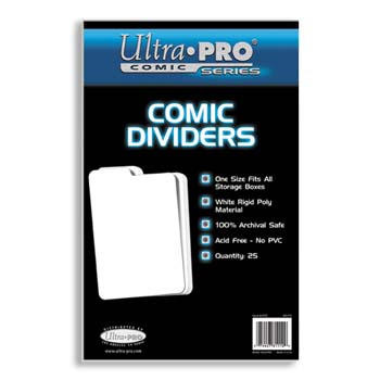 BCW: Comic Indexing Dividers