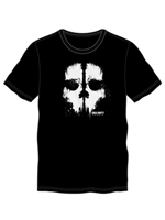 Call Of Duty: Ghosts Skull Mens Tee Black (Large)