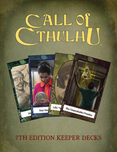 Call of Cthulhu (7th Edition): Keeper Decks
