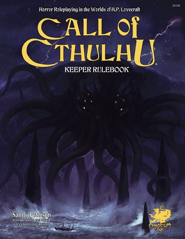 Call of Cthulhu (7th Edition): Keeper Rulebook (HC) [Damaged]
