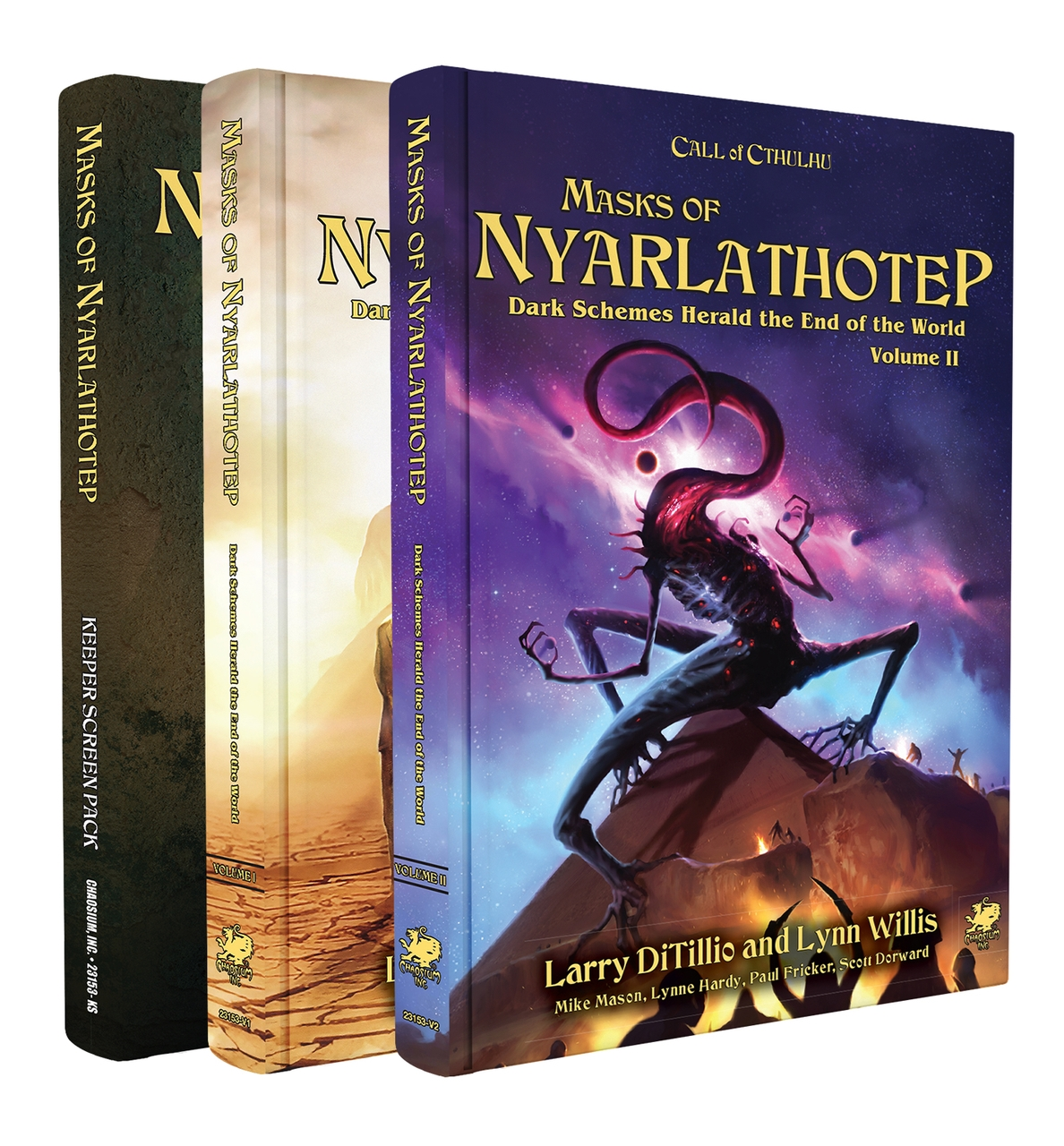 Call of Cthulhu (7th Edition): Masks of Nyarlathotep Slipcase Set [Damaged]