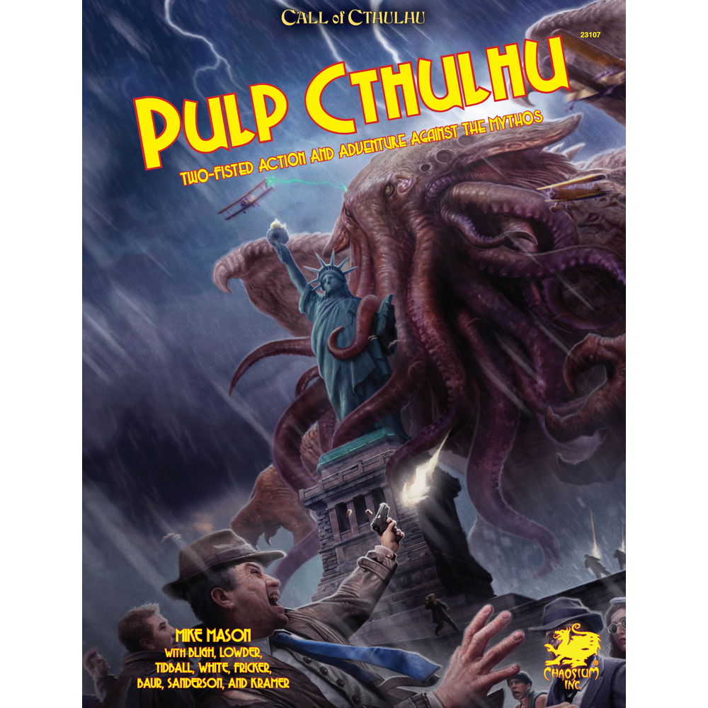 Call of Cthulhu (7th Edition): Pulp Cthulhu [Damaged]