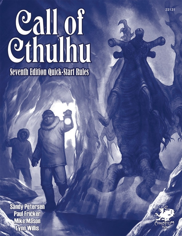 Call of Cthulhu (7th Edition): Quickstart Book