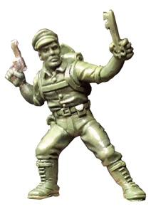 Call of Cthulhu Miniatures: Captain Richard Carter with Silver Key
