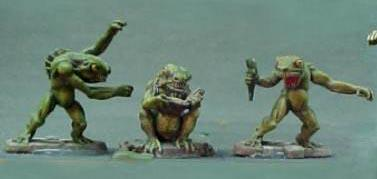 Call of Cthulhu Miniatures: Deep Ones, Mutant Fishmen