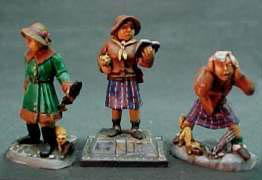 Call of Cthulhu Miniatures: Female Parapsychologists