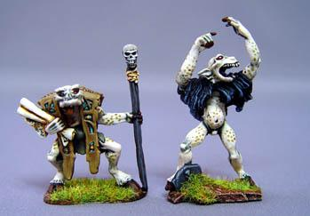 Call of Cthulhu Miniatures: Ghoul Leader - Ghoul Warlock