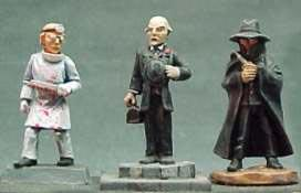 Call of Cthulhu Miniatures: Male Doctors