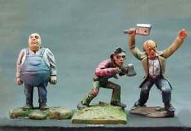 Call of Cthulhu Miniatures: Maniacs