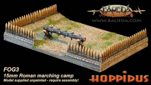 Cama Scenics: 15mm Ancient Terrain: Roman Marching Camp