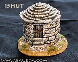 Cama Scenics: 15mm Ancient Terrain: Small Round Stone Hut