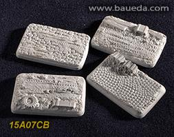 Cama Scenics: 15mm Scenic Bases: Vehicle