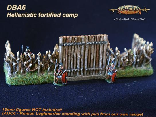 Cama Scenics: Hoppidus (15mm Ancient): Hellenistic Fortified Camp