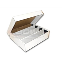 BCW Cardboard Card Box (3200 Count)