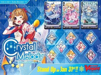Cardfight Vanguard: Crystal Melody Extra Booster - Booster Pack