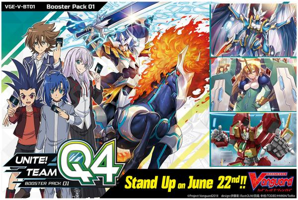 Cardfight Vanguard G: Unite! Team Q4- Booster Pack