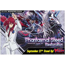 Cardfight Vanguard: Phantasmal Steed Restoration -  Booster Pack