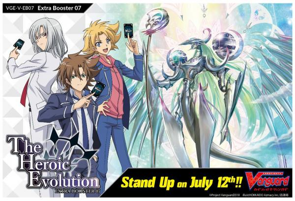 Cardfight Vanguard: The Heroic Evolution EB07- Booster Pack
