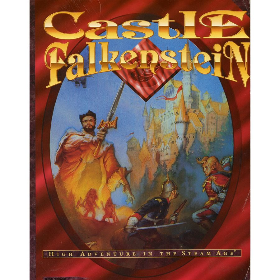 Castle Falkenstein: High Adventure In The Steam Age (Damaged)