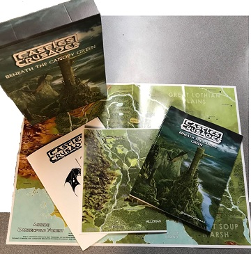 Castles & Crusades: Beneath the Canopy Green Box Set