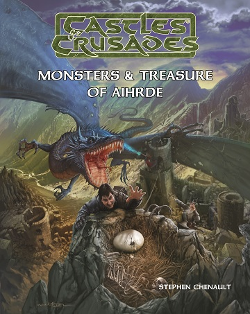 Castles & Crusades: MONSTERS & TREASURES OF AIHRDE (HC 2ND EDITION)