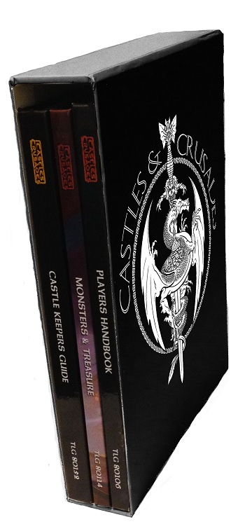 Castles & Crusades: Slipcase Edition (3 Hardbacks & Slipcase)
