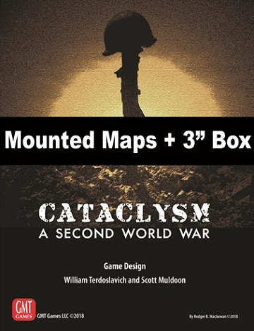 "Cataclysm: Mounted Maps and 3"" Box"