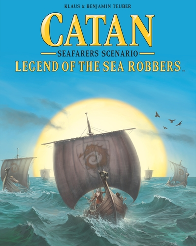 Catan Seafarers: Scenario- Legend Of The Sea Robbers