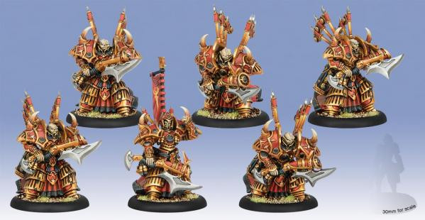 Hordes: Skorne (74074): Cataphract Incindiarii [SALE]