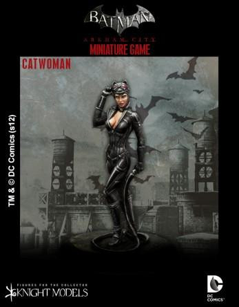 Batman Miniatures Game 008: Catwoman (Arkham City)