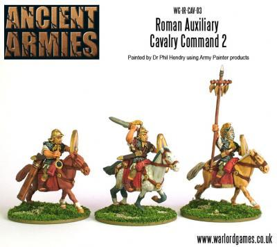 Hail Caesar: Imperial Romans: Cavalry with Spear Command