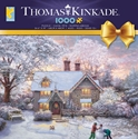 Ceaco Puzzles (1000): Christmas at Gingerbread Cottage