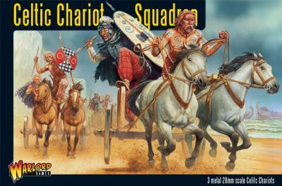 Hail Caesar: Celts: Chariot Squadron Boxed Set