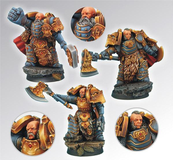 Scibor Monstrous Miniatures: SF Celtic Warriors Squad