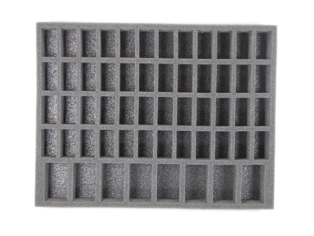 "Battlefoam: WH40K: Chaos Space Marines: 48 Medium 8 Large Model Troop (BFL) (15.5"" x 12"" x 1.5"")"